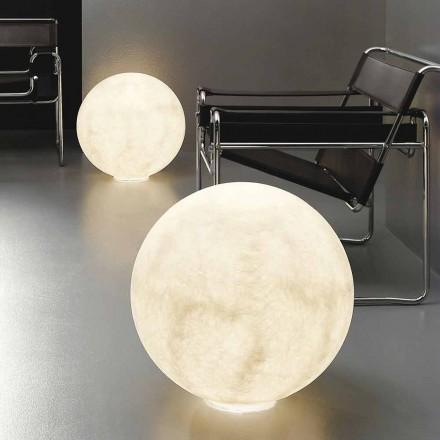 Moderne bolvormige tafellamp In-es.artdesign Floor Moon nebulite