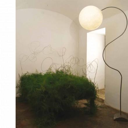 Moderne nebulite vloerlamp in-es.artdesign Luna H210cm