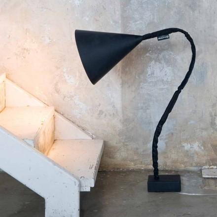 Moderne staande lamp In-es.artdesign Flower Resin schoolbord