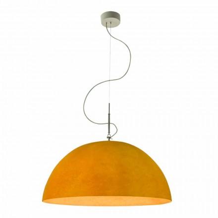 Moderne lamp In-es.artdesign Mezza Luna Opgeschorte Nebulite