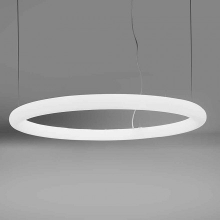 Ronde LED-pendellamp in polyethyleen Made in Italy - Slide Giotto