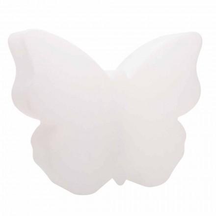 Tafel- of vloerlamp voor binnen of buiten, witte vlinder - Farfallastar