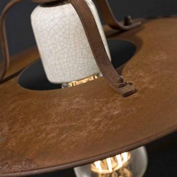 ambachten en neer lamp keramiek en metallo Kristen Ferroluce