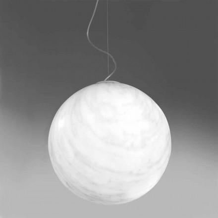 Moderne hanglamp van polyethyleen Slide Mineral