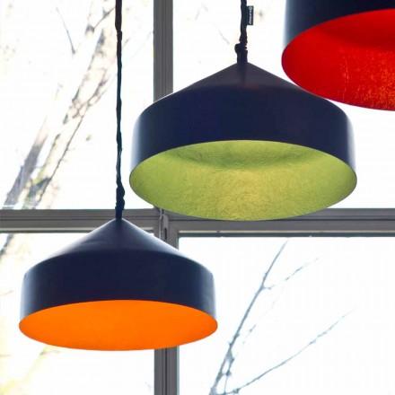 Hangende designlamp In-es.artdesign Cyrcus Resin-schoolbord