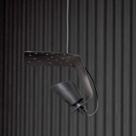 Design hanglamp van metaal en aluminium Tractor - Toscot