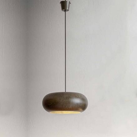 Hanglamp in staaldiameter 500 mm - Materia Aldo Bernardi
