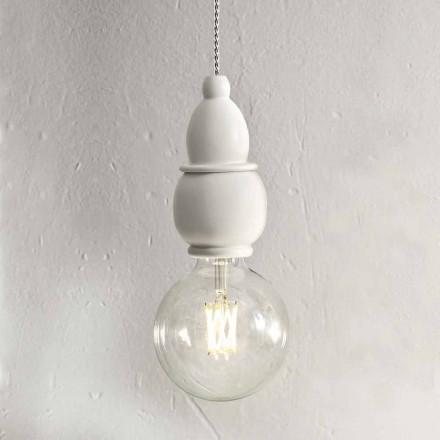 Shabby Chic keramische hanglamp met 3m kabel - Fate Aldo Bernardi