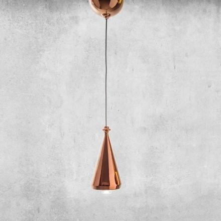 Design LED pendellamp in keramiek - Lustrini L2 Aldo Bernardi