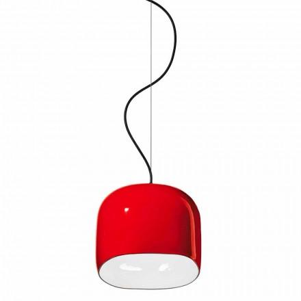Moderne stijl hanglamp in keramiek gemaakt in Italië - Ferroluce Ayrton