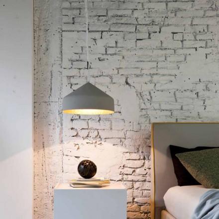 Eigentijdse hanglamp In-es.artdesign Cyrcus Geverfd cement