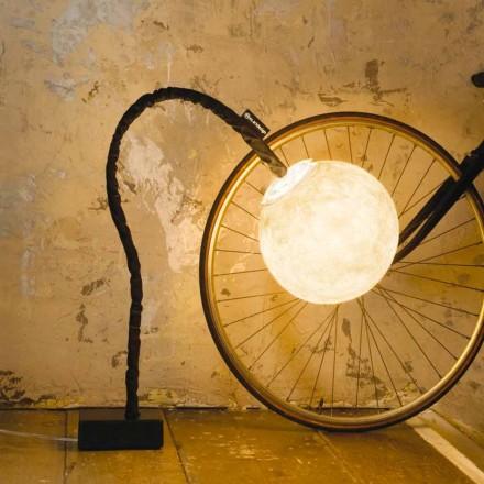 Flexibele staande lamp In-es.artdesign Micro Luna nebulite