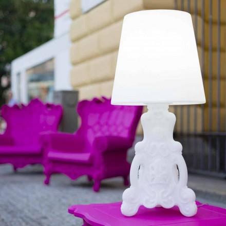 Schuif Lady of Love tafellamp van helder ontwerp gemaakt in Italië