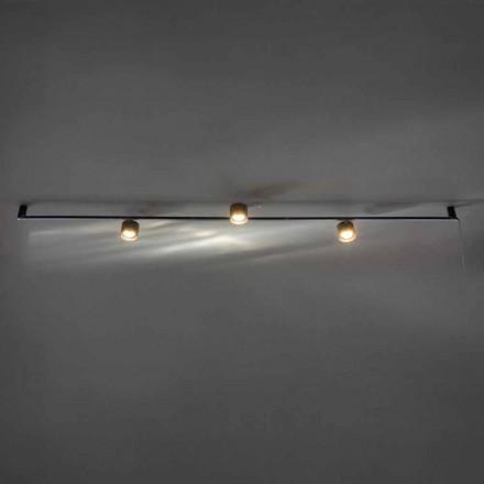 Artisanale design kroonluchter met 3 verstelbare lampen gemaakt in Italië - Pamplona