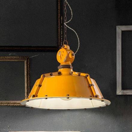 industriële stijl kroonluchter vintage bell Jillian Ferroluce