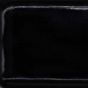 Hoge moderne wastafel in keramische Oliena, gemaakt in Italië