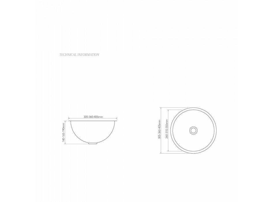 Wastafel ontwerp ondersteunen koper met nikkel gesatineerd Pure