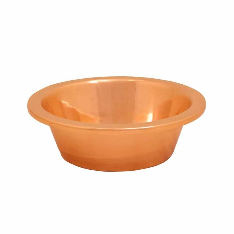 Wastafel bad van koperhoudende handgemaakte Sole