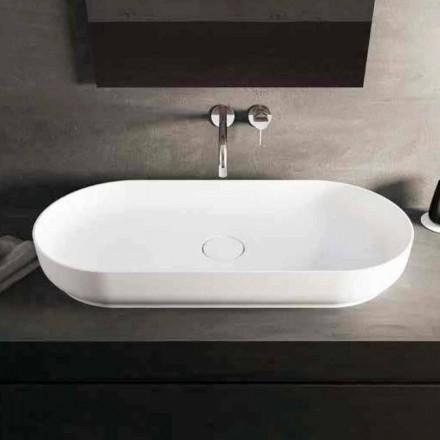 Moderne design wastafel Dalmine Maxi, gemaakt in Italië