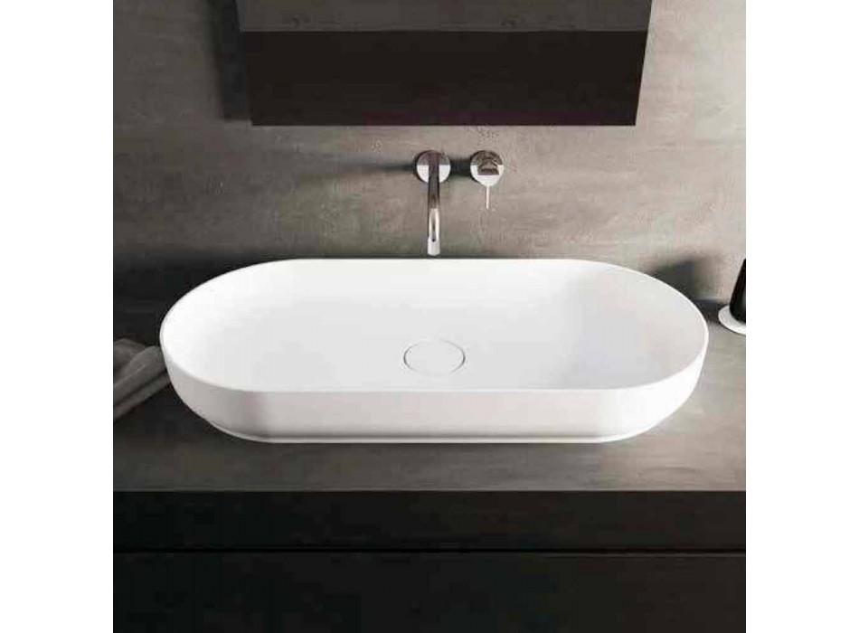 Moderne design vrijstaande badkamer wastafel gemaakt in Italië Dalmine Maxi