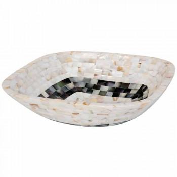 Aanrecht wastafel met inzetstukken Bea shells, eendelig