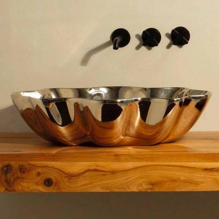 Moderne design keramische wasbak gemaakt in Italië Cubo