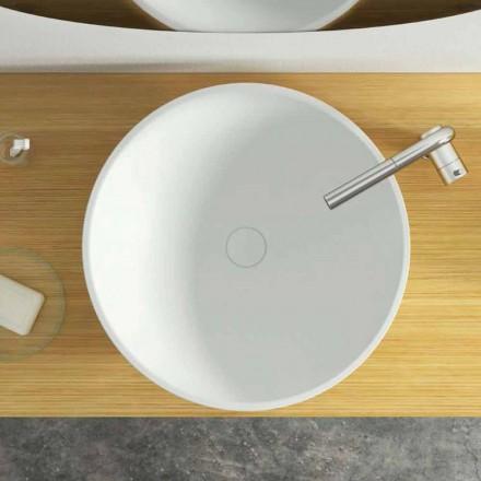 Wastafel met rond design, modern design, gemaakt in Italië, Donnas