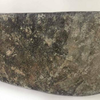 Aanrecht wastafel in Akta riviersteen, uniek stuk