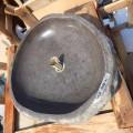 Aanrecht Wastafel Handgemaakt in Pietra di Fiume - Aurea