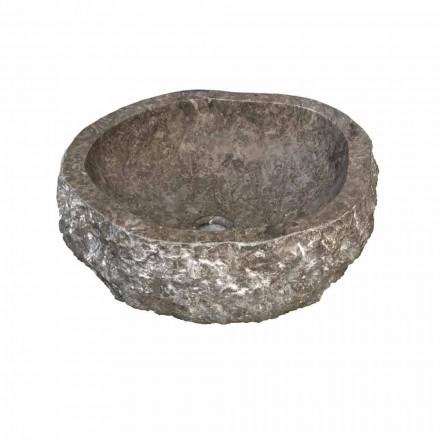 Wastafel stuk lager marmer gerookte Bombay