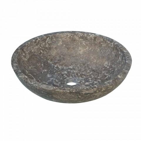 Wastafel round ondersteuning antraciet Moyo