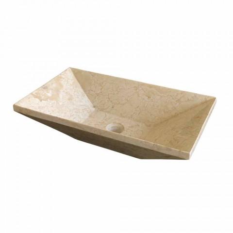 Wastafel Ondersteunende Keystone Stone Natural Beige Wok