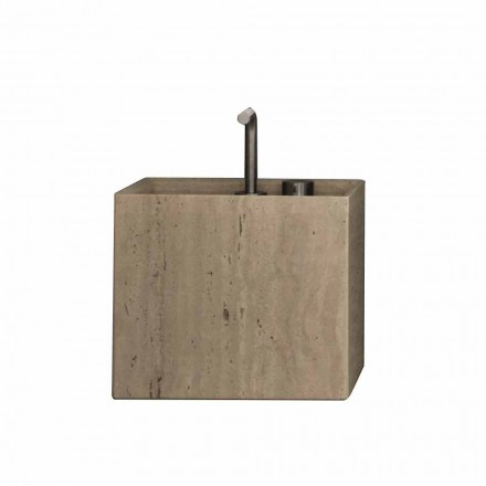 Modern Vierkant Design Aanrechtblad Stenen Badkamer Wastafel - Farartlav2