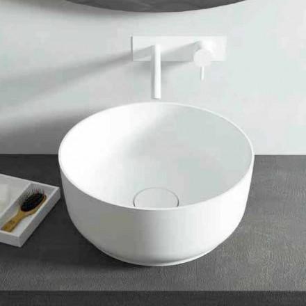 Modern design ronde wastafel, gemaakt in Dalmine, Italië