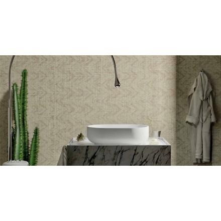 Wastafel met modern design in massief oppervlak, Formicola