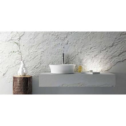 Moderne design ronde wastafel, 100% gemaakt in Italië, Desana