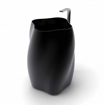 Moderne design vrijstaande wastafel Bloem gemaakt in Italië