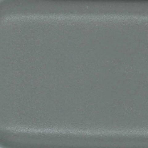 Wastafel met één gat in gekleurd keramiek voor ondersteuning en verzonken capri