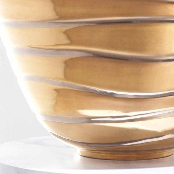 Marcello, een moderne counter-top in porselein gemaakt in Italië