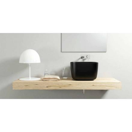 Modern design aanrecht wastafel wastafel 100% gemaakt in Italië, Lallio