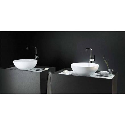 Moderne design aanrecht ronde spoelbak 100% gemaakt in Italië, Donnas