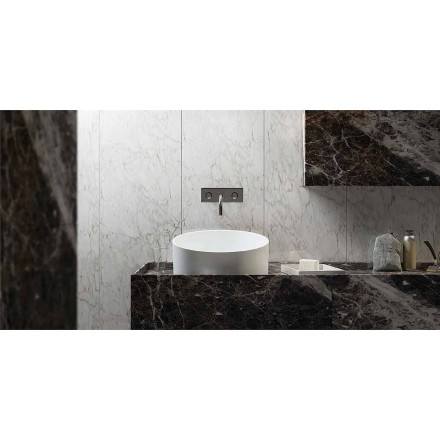 Design ronde staande wastafel 100% gemaakt in Italië, Dubino