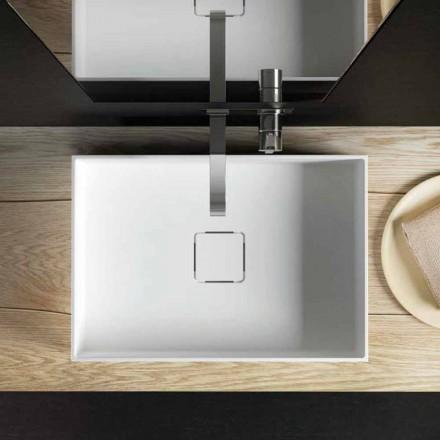 Moderne aanrecht wastafel, 100% geproduceerd in Lavis, Italië