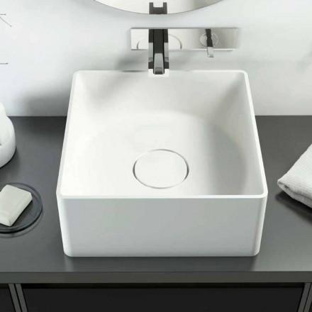 Wastafel modern design gemaakt 100% in Forino, Italië