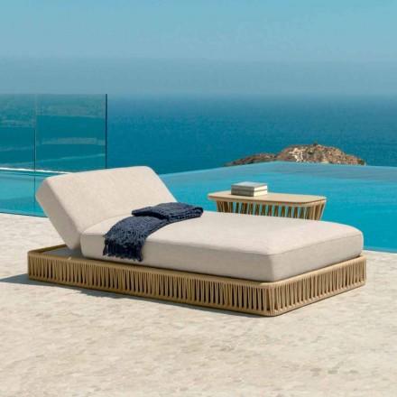 Cliff moderne ligstoel van Talenti, ontwerp van Palomba