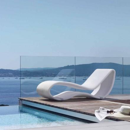 designer witte tuin bed Breez met 2,0 Talents