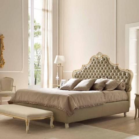 Tweepersoonsbed met opbergruimte, klassiek ontwerp, Chantal door Bolzan