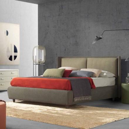 Tweepersoonsbed met bedcontainer, modern ontwerp, Kate by Bolzan
