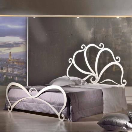 Dubbele ontwerp ijzer met glas decoraties in Eden