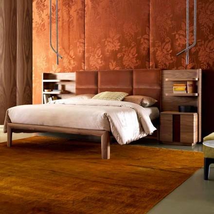 Grilli York maakte Italië massief houten gestoffeerd tweepersoonsbed